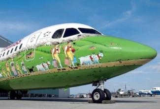 Trầm trồ trước những mẫu trang trí máy bay đẹp nhất thế giới