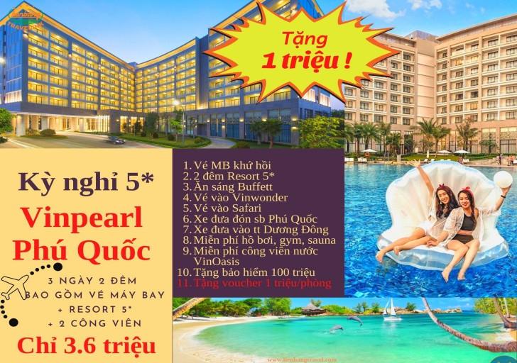 Du lịch Phú Quốc 3 ngày