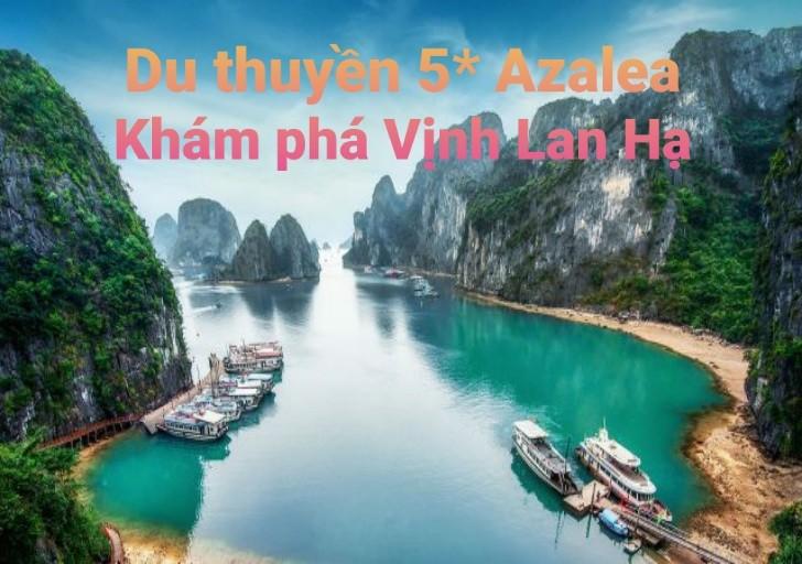 Du thuyền 5* khám phá Vịnh Lan Hạ